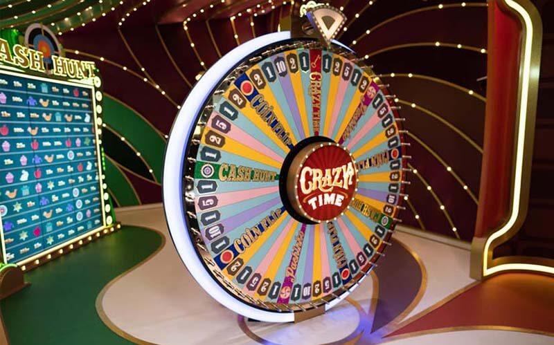 Crazy time är en yy game show från Evolution gaming