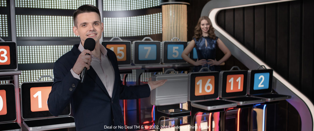 Deal or no deal live casino game show