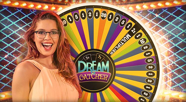 Dream catcher casino game show