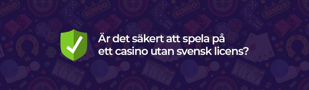 Betalningsmetoder hos casinon utan svensk licens